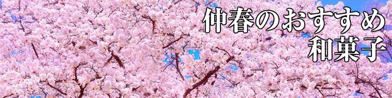 仲春のおすすめ和菓子
